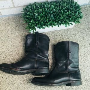 Frye Men's Brown Leather boots size 9M